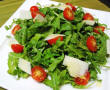 Arugula and parmesan cheese salad